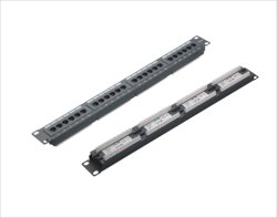 O Cat5e 24 portas Patch Panel