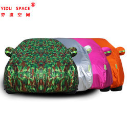 Décoration de voiture de gros de l'accessoire de voiture Oxford Sunproof étanche pliage portable Full Auto capot de voiture