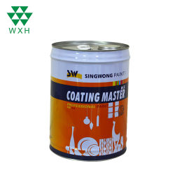 Geschlossen-Kopf 20L anhaftender Metallzinn-Eimer für Lack, industrielles Verpacken