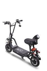 10 de duim rijdt Elektrische Autoped/36V 350W Brushless Fietsen van de Motorfietsen van de Motor Mini Elektro