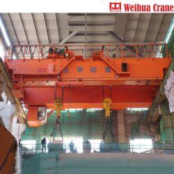 Weihua Kran-Pflanze verdoppeln direkt Träger-Unkosten-reisenden EOT-Kran 250 Tonne, die für Stahltausendstel verwendet wird