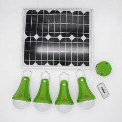 Global Sunrise Lights 30W 충전식 LED 가정용 태양광선 조명 키트 5200mAh 배터리 램프 SRE-99g-4