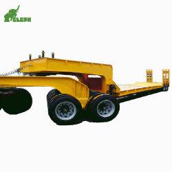 Semi Truck Fifth-Wheel Conexão de Serviço Pesado Lowbed carrinho de reboque