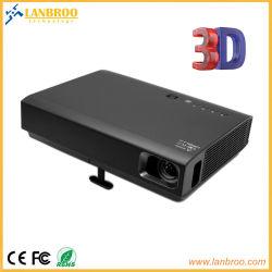 Karte beweglicher der Digital-Laser-LED HD Projektorreale eingebaute Android 3D OS-UnterstützungsRJ45/WiFi/HDMI/VGA /USB/TF für Heimkino/Spiel/Ausbildung/Geschäft etc.