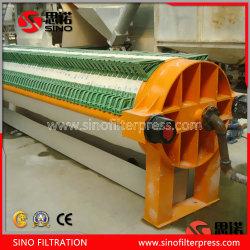 Separador de líquidos y sólidos de la placa redonda automática de filtro prensa