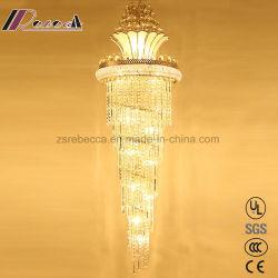 Современные уникальные K9 Подвесной светильник Crystal для лестницы