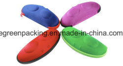 EVA coloridos óculos de sol caso formato exclusivo (EZ3)