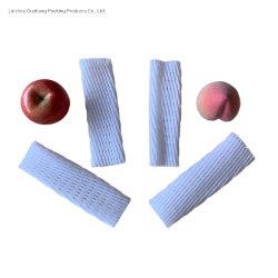 De witte Rode Purpere Polytheen Uitgebreide Plastic Netto Buis van het Schuim EPE voor de Verse Verpakking van het Fruit van de Papaja