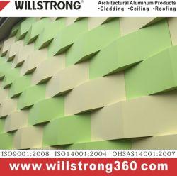 Matériaux de construction en aluminium Panneau Compostie Architectural Panneaux de signalisation de plafond de la canopée des Façades Façades Ventilées