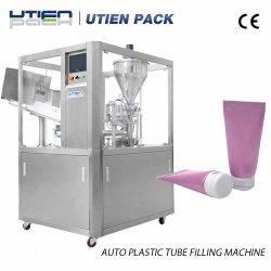 Ultrasónico automático de la Crema de tubo de plástico de Embalaje Embalaje/Máquina de Llenado y Sellado