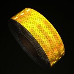 ECE R104 de la couleur jaune ruban réfléchissant