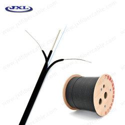 Câble fibre optique de câble de descente FTTH 2core 3le fil en mode unique G657 A1 9/125μ m Utilisation dans la Communication