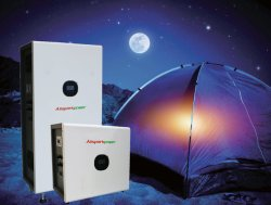 Allsparkpower 3kw 변환장치 4.8kwh 떨어져 격자 태양계 야영하거나 House/EV 충전기를 위한 태양 발전기 UPS 시스템 재충전 전지 태양 에너지 공급