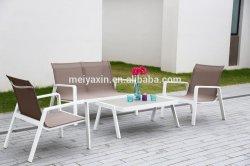 Myx Outdoor meubles de jardin meubles de tissu de Teslin en aluminium
