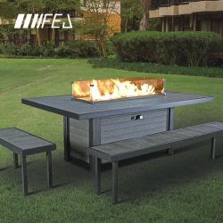 أثاث خارجي تصميم فريدمدفأة تعمل بالغازطاولة Fireit