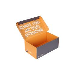Pittura Di Foresta Carta Cartone Scatola Regalo Cubica Con Decorazione Di Slogan Interna