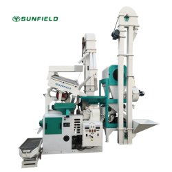 Agricultura Automática da Máquina Conjunto Completo de fábrica de moinho de arroz combinado máquina de transformação do arroz