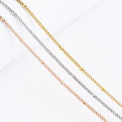 أزياء بالجملة اكسسوارات من الفولاذ المقاوم للصدأ عقد سلسلة مع الخد لتصميم حرفة المجوهرات