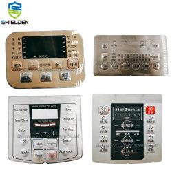 Герметичный Matrix Array рельефным нажатием кнопки на панели управления с клавиатуры мембранного переключателя FPC терминала для машин и оборудования для медицинских устройств