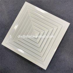 HVAC Воздуховод вернуться вентиляционное отверстие питания 4 способ квадратные потолочные диффузор со съемными Core для вентиляции используется