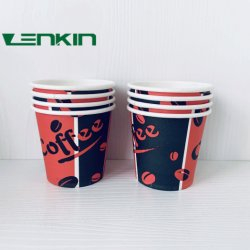 أكواب القهوة PE تم تخصيص 18 وايت صنعها HOT (ساخن) ألوان أجهزة الكمبيوتر الشخصي بنمط ملحق شعار الحائط