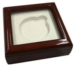 Contenitore di legno poco costoso di pacchetto della medaglia del fornitore dell'OEM