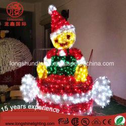 LED de 220V, la Elf Bastón decoración luz decorativa para exteriores de la Navidad