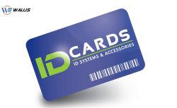 Leitor de Cr80 Cartão Presente Material de PETG PVC, Firma, cartão plástico RFID para impressão em offset Printabl Cartão de Crédito Bancário