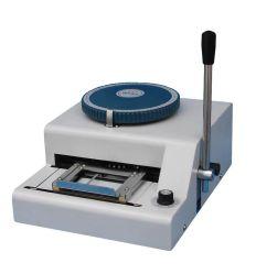 Wenlin-2000 Code VIP de la machine de marquage de la Carte Visa carte PVC machine à gaufrer