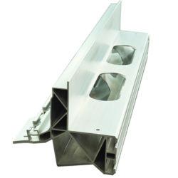 Energia Solar Industrial Painel celular da Estrutura de alumínio Perfil para sistema de energia solar de instrumentos