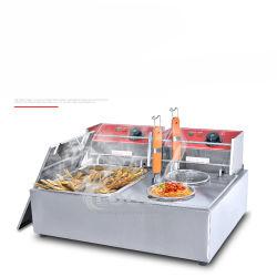 Ahorro de energía de alta eficiencia eléctrica de diseño OEM certificado CE Oden Máquina Freidora Eléctrica comercial Pasta Cocina