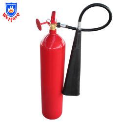 Portable 7kg CO2 El cilindro de gas extintor de incendios