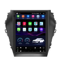 Tesla vertikaler Multimedia-Spieler-Radio-video Stereoaudio GPS des Bildschirm-Auto-androider DVD für Hyundai IX45/Santa Fe 2013-2017