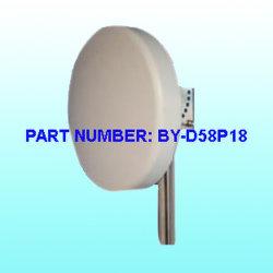 5,8 Ghz antena MIMO, el Panel de alta ganancia de antena 16dBi