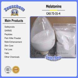 Pó Anti-Depression Melatonine para melhorar a qualidade do sono CAS 73-31-4