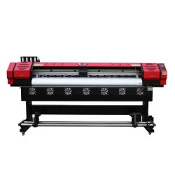 실외 실내 디지털 Lt-1901AS XP600 싱글 헤드 플렉스 와이드 포맷 에코 솔벤트 프린터 1.8m