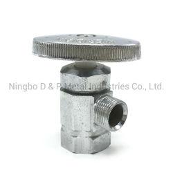 Venta caliente Accesorios de Baño Sanitarios wc lavadero de la válvula de ángulo de zinc