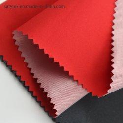 Tessuto di seta naturale impermeabile durevole 100% del poliestere 3 strati del tricot del tessuto di Laminted