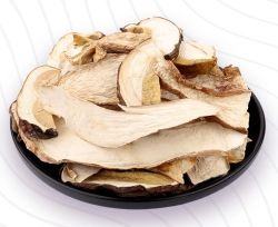 Coupe de champignons porcini secs/Boletus edulis