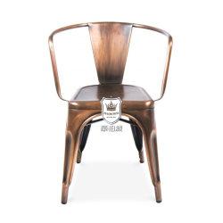 مقهى نحاسة [توليإكس] كرسي تثبيت برونز فولاذ كرسي تثبيت أثر قديم يخزّن نحاس أصفر [مريس] يتعشّى كرسي تثبيت لأنّ مطعم صناعيّة