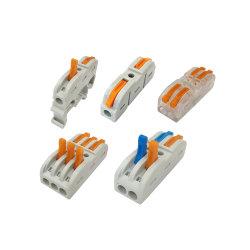 Couleurs variables épissage du câblage du connecteur du levier de bloc terminal