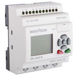 precio de fábrica Controlador Lógico Programable plc para el Control Inteligente (Relé programable PR-12AC-R-HMI)