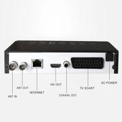 MPEG4 Украина Россия 2 порта USB в Анголе цифровой ресивер DVB-T2