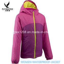 Новые моды тебя от ветра для использования вне помещений тканью снега на лыжах женщин куртка