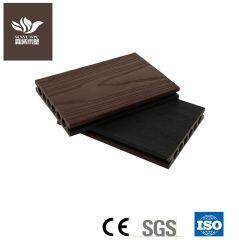 Pisos de madeira placa WPC exterior composto de plástico Deck Co-Extrusion Grãos de madeira