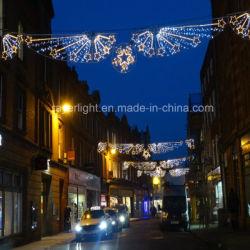 La decoración de la calle LED 110V en el exterior de la calle de la cruz de Navidad vacaciones Banner