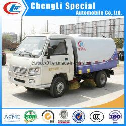 Mini-Veegmachine Voor Landgebruik, Efficiënte Veegmachine Voor Vacuümweggebruik, Small Street Sweeper-Truck