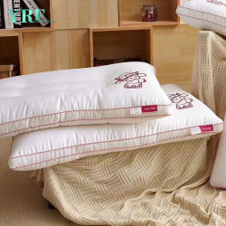 Hoofdkussen van de Polyester van de Bevordering van de Verkoop van de Plaats van China koopt het Bulk de Hoofdkussens van het Hotel