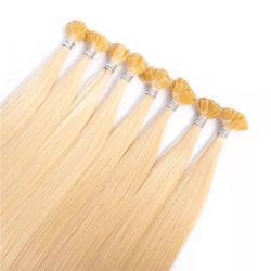 0,8 g/S 16 pouces Real Remy Fusion I Astuce de la kératine des cheveux soyeux des extensions de cheveux Salon professionnel droites Stick