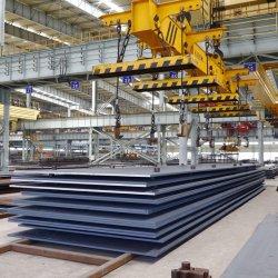 Piatto ad alta resistenza laminato a caldo del acciaio al carbonio (SS400 Q235B Q345B S355JR)